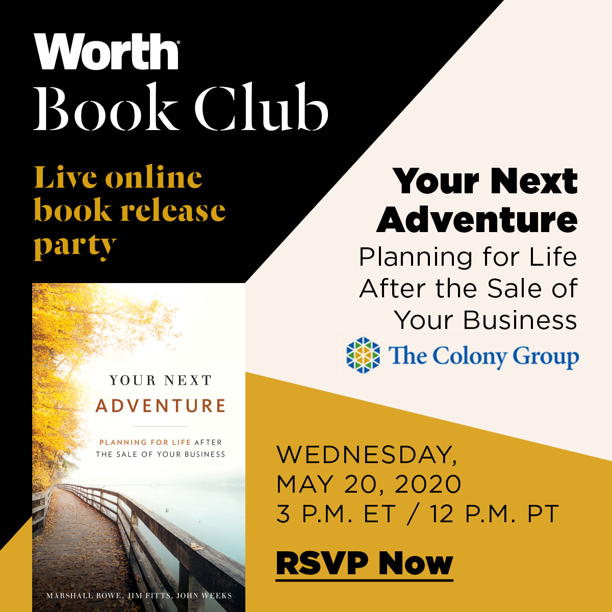 Register Now for Worth Book Club - Your Next Adventure
