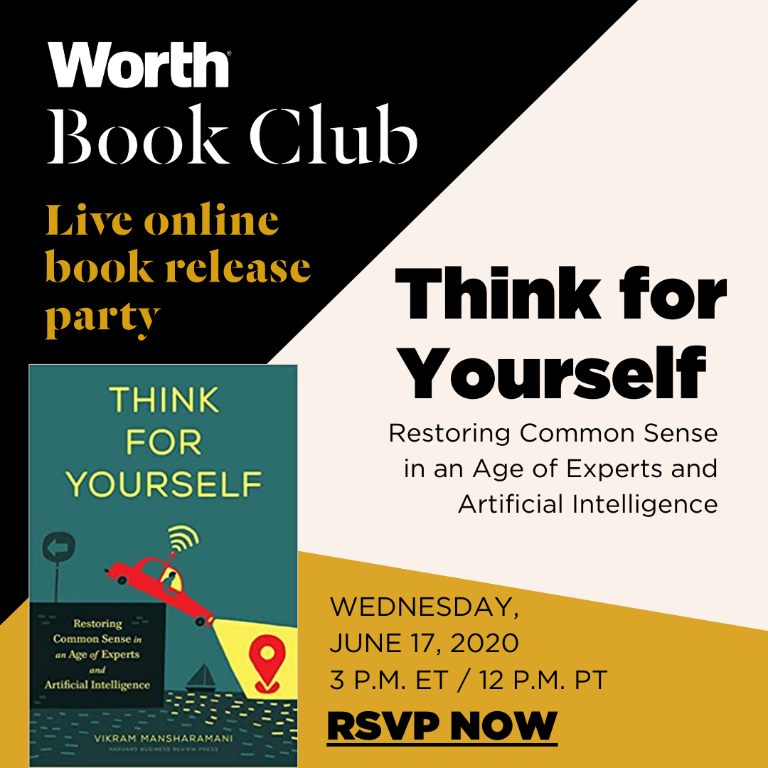 Work Book Club: Think for Yourself Book Release Party
